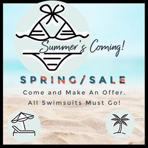 Summer's Coming! Spring Sale! Come Make An Offer!